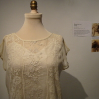 Detail View of 1925 Daisy Chain Dress
