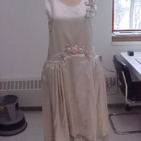 Front View of Wedding Dress of Gertrude Tomson Fortna