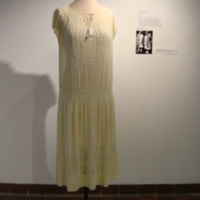 Front View of 1924 Class Day Dress