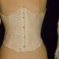 Front View of Corset