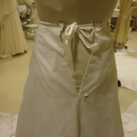 Condition View of Wedding Dress of Willa McCarthy