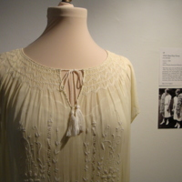 Detail View of 1924 Class Day Dress
