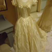 Front View of Wedding Dress of Mary Lee Hartzell