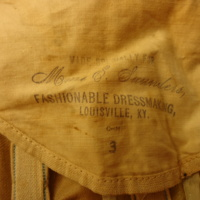 Label View of Wedding Dress of Isabel Miller Board