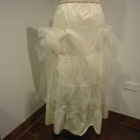 Condition of Wedding Dress of Gertrude Tomson Fortna