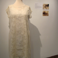 Front View of 1925 Daisy Chain Dress