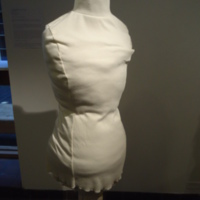 Condition View of Wedding Dress of Muriel Kahn Lampell