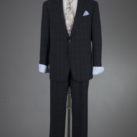 Front View of 2012 Wedding Suit of Drew Minter