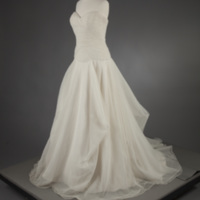 Front View of 2012 Wedding Dress of Anna Langdell