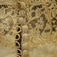 Detail View of 1954 Wedding Dress