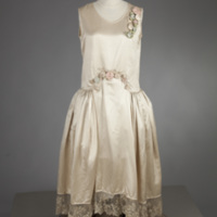 Front View of 1926 Wedding Dress of Gertrude Tomson Fortna