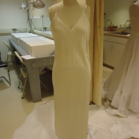 Condition View of Wedding Dress of Hennrietta S. Robinson