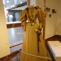 Scale View of Wedding Dress of Isabel Miller Board