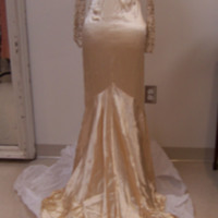 Back View of Wedding Dress of Ken Robinson's Mother