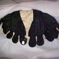 Front View of Cape with lappets