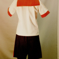 Back View of 1926 Gymsuit Ensemble