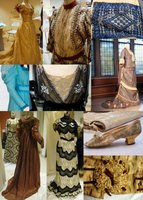 a publicity image for the exhibition A Glimpse into Vassar's Secret Closet, with a collage of items from the exhibition