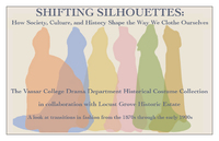 publicity image for Shifting Silhouettes exhibition